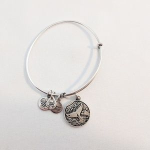 Alex and Ani Silver Alaska Bracelet (Rare!)